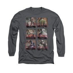 Image for Arkham City Long Sleeve Shirt - Arkham Lineup