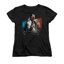 Image for Arkham City Womans T-Shirt - Two Face