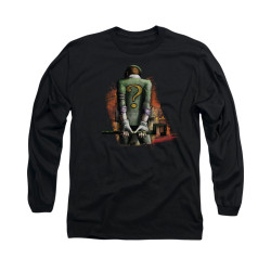 Image for Arkham City Long Sleeve Shirt - Riddler Convicted
