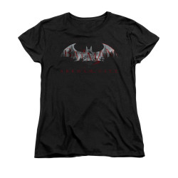 Image for Arkham City Womans T-Shirt - Bat Fill