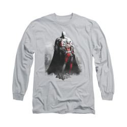 Image for Arkham City Long Sleeve Shirt - Harley And Bats