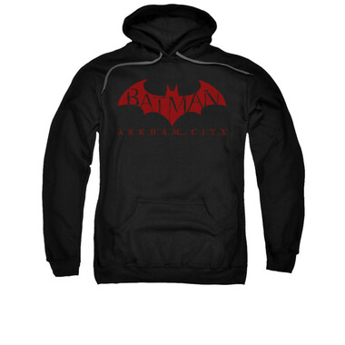 Image for Arkham City Hoodie - Red Bat
