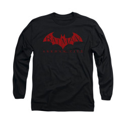 Image for Arkham City Long Sleeve Shirt - Red Bat