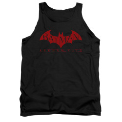 Image for Arkham City Tank Top - Red Bat
