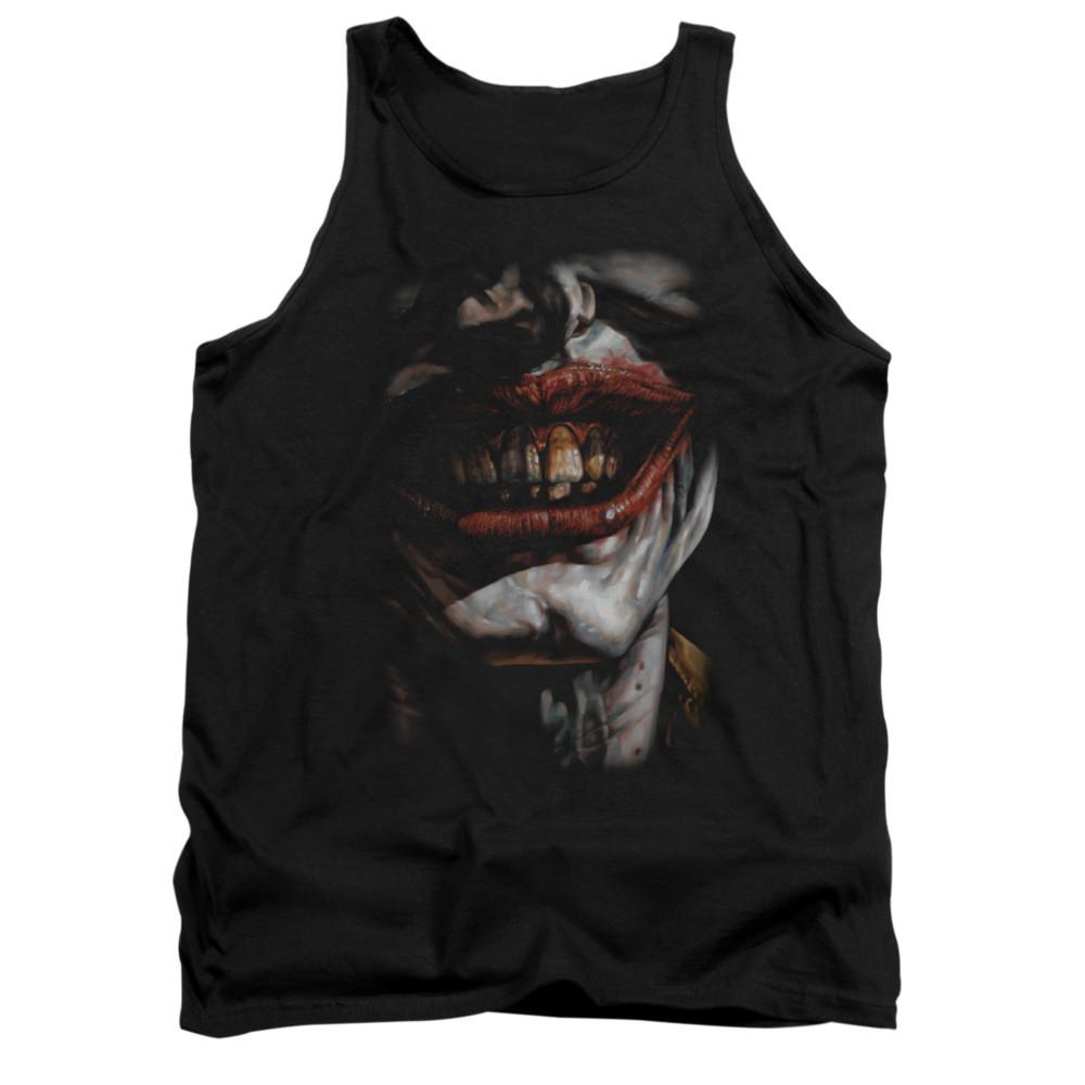 cb8ea3538aeecf Batman Tank Top - Smile Of Evil - NerdKungFu