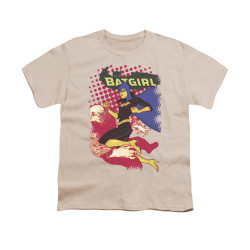 Image for Batman Youth T-Shirt - Batgirl Crunch