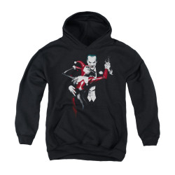 Image for Batman Youth Hoodie - Harley And Joker