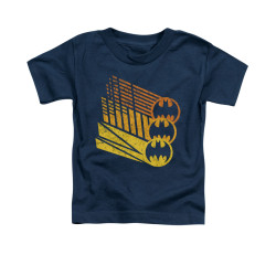 Image for Batman Toddler T-Shirt - Bat Signal Shapes