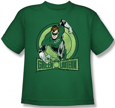 Image for Green Lantern Youth T-Shirt