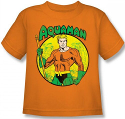 Image for Aquaman Kid's T-Shirt