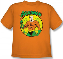 Image for Aquaman Youth T-Shirt