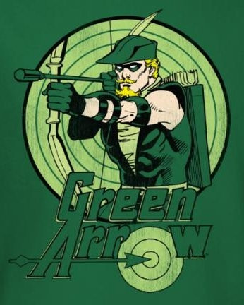 Image for Green Arrow Drawing T-Shirt