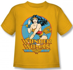 Image for Wonder Woman Deflect Kid's T-Shirt