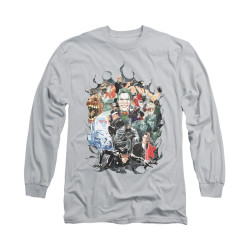 Image for Batman Long Sleeve Shirt - Cape Of Villians