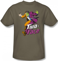 Image for Two Face Running T-Shirt