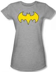 Image for Batgirl Distressed Logo Girls Shirt