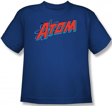 Image for The Atom Logo Youth T-Shirt