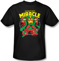 Image Closeup for Mr. Miracle T-Shirt
