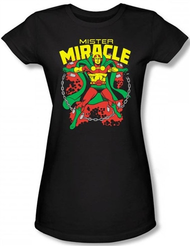 Image for Mr. Miracle Girls Shirt