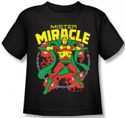Image for Mr. Miracle Kid's T-Shirt