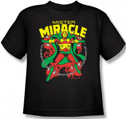 Image for Mr. Miracle Youth T-Shirt
