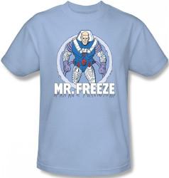 Image Closeup for Mr. Freeze T-Shirt DCO321-AT