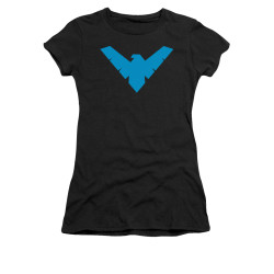 Image for Batman Girls T-Shirt - Nightwing Symbol