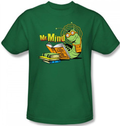 Image Closeup for Mr. Mind T-Shirt