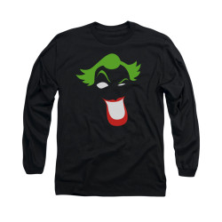 Image for Batman Long Sleeve Shirt - Joker Simplified