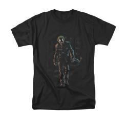 Image for Batman T-Shirt - Joker Leaves Arkham