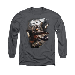 Image for Dark Knight Rises Long Sleeve Shirt - Imagine The Fire