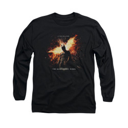 Image for Dark Knight Rises Long Sleeve Shirt - Fire Will Rise