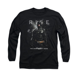 Image for Dark Knight Rises Long Sleeve Shirt - Batman Rise