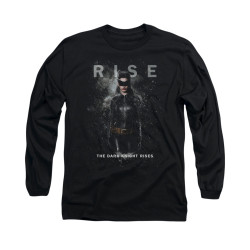 Image for Dark Knight Rises Long Sleeve Shirt - Catwoman Rise