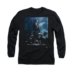 Image for Dark Knight Rises Long Sleeve Shirt - Catwoman Poster