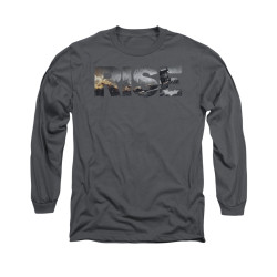 Image for Dark Knight Rises Long Sleeve Shirt - Title