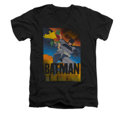 Image for Batman V Neck T-Shirt - Dk Returns