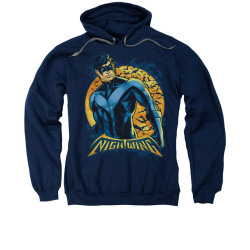 Image for Batman Hoodie - Nightwing Moon