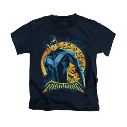 Image for Batman Kids T-Shirt - Nightwing Moon
