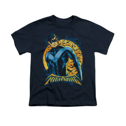 Image for Batman Youth T-Shirt - Nightwing Moon