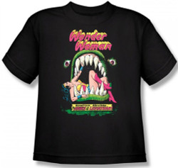 Image for Wonder Woman the Jaws of the Leviathan Youth T-Shirt
