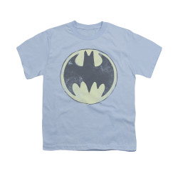 Image for Batman Youth T-Shirt - Old Time Logo