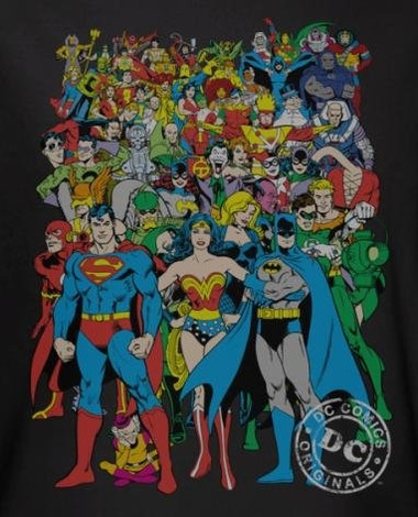 Image for DC Original Universe T-Shirt