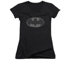 Image for Batman Girls V Neck - Chainmail Shield