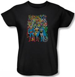 Image for DC Original Universe Womens T-Shirt
