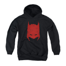 Image for Batman Youth Hoodie - Hacked & Scratched