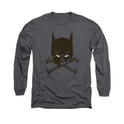 Image for Batman Long Sleeve Shirt - Bat And Bones