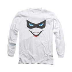 Image for Batman Long Sleeve Shirt - Harley Face
