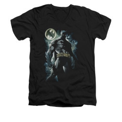Image for Batman V Neck T-Shirt - The Knight