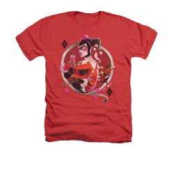 Image for Batman Heather T-Shirt - Harley Q